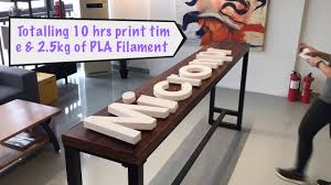how to make illuminated channel letter with 3d printer