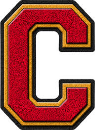 Presentation Alphabets: Cardinal Red & Gold Varsity ...