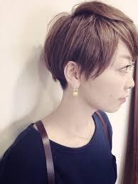 美フォルムショート ミルクティーベージュの髪型 Stylistd