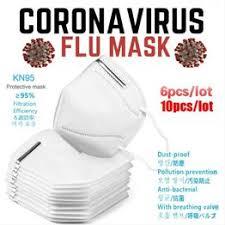 6/10pcs KN95 Soft Face Mouth Mask KN95 N95 PM2.5 ... - Vova