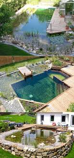 17 Family Natural Swimming Pools You Want To Jump Into Immediately |  Building a swimming pool, Natural swimming pools, Swimming pool designs