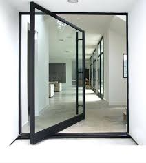 aluminum entrance door first rate double glass front door custom modern aluminum glass pivot entry door