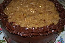 Decorated German Chocolate Cake Karas Cakery Blog German Chocolate Cake