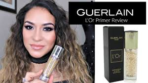 guerlain l or radiance make up base review ft elicia aragon