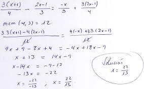 Matemáticas 4º ESO   A   Ecuaciones