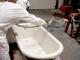 tech refinishing clawfoot tub