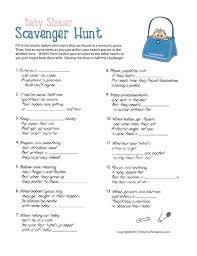Baby Shower Party Games Printable Baby Shower Games From Party Fun ...
