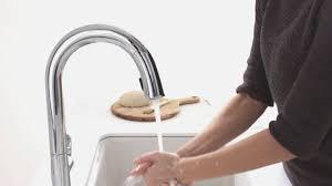kohler k 72218 cp sensate touchless kitchen faucet polished chrome touchless kitchen faucet