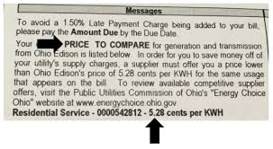 Puco Apples To Apples Natural Gas Rate Comparison Chart 4 Steps To Buy Clean Renewable Electricity For The Same