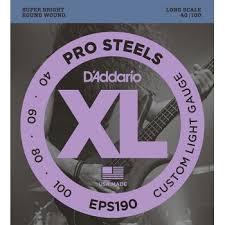 Купить <b>струны</b> для бас <b>гитары</b>, Custom Light, 40-100, <b>D'Addario</b> ...