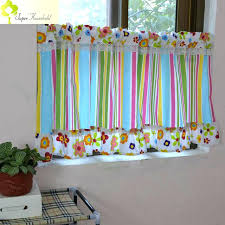 striped kitchen curtains striped valance curtains canopy window fringe curtain kitchen door short curtains for kids