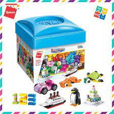 Bộ Đồ Chơi Xếp Hình Lắp Ghép Lego Qman 460 Miếng Ghép Hộp Gạch Sáng Tạo Cơ  Bản 2901 Cho Trẻ Từ 3 Tuổi