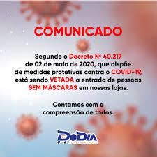 Respeitando um decreto estadual Nº... - DoDia Supermercado - João Pessoa