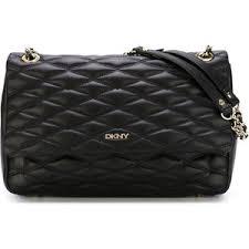 DKNY Quilted Shoulder Bag - Polyvore & DKNY Quilted Shoulder Bag Adamdwight.com