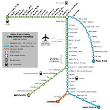 list of santa clara vta light rail stations wikipedia Lrt Map Pdf the current vta light rail system map routes lrt map kuala lumpur