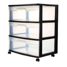 21 88 in 3 drawer wide cart 1 pack