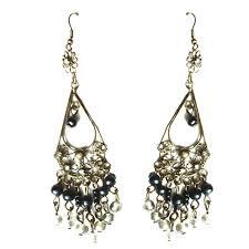 pearl drop chandelier earring frm0012 fast delivery ready stock earrings