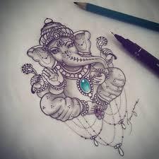 Terminando Mais Uma Encomenda Amado Ganesha Ganeshatattoo Tattoo