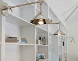 book shelf lighting. love these polished nickel bookcase sconces book shelf lighting i