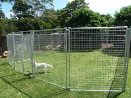 outdoor dog pen ideas