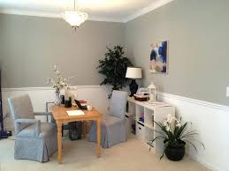 office wall color ideas. Fine Wall Formal Dining Room Turned Into A Home Office Wall Color Is Sherwin  Williams Sensible Hue Inside Ideas C