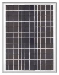 Ameresco BSP40-12 <b>40w</b> Silver Poly <b>12 Volt Solar Panel</b> ...