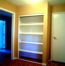Built In Drywall Shelves Built In Wardrobe 10 Steps With Pictures