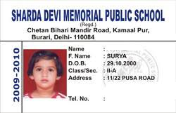 - Id Id Delhi Timetrack 2815268255 Paschim amp; Cards Institute landscape School Vihar Card