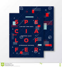 special offer fashion poster card or flyer template modern special offer fashion poster card or flyer template modern abstract flat swiss style