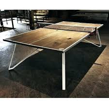 folding ping pong table just finished this and realized i have no diy top for pool
