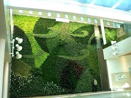 green garden wall artificial