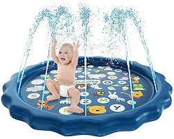 Amazon.co.jp: Fountain Mat, <b>Water Fountain Toy</b>, Play Mat, Vinyl ...