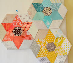 48 best English Paper Piecing images on Pinterest | DIY, Crafts ... & Hyacinth Quilt Designs: English Paper Piecing jewel stars ~ I think this is  the pattern to my couch throw! Adamdwight.com