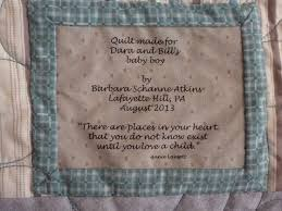 210 best Quilting - Labels images on Pinterest | Tags, Cards and ... & Label for baby quilt Adamdwight.com