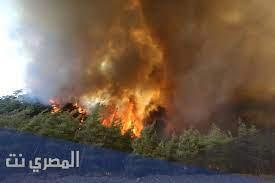 حرائق تركيا على الخريطة - المصري نت