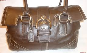 We recommend you Coach Flap Cover Handbag Brown Leather Hobo Bag IsgqdSWb
