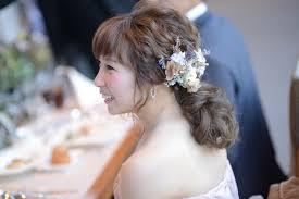 おしゃれ花嫁さまのヘアスタイルゆるふわポニー スタッフブログ
