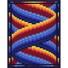 Bargello Quilt Patterns Custom Curlz Bargello Quilt Pattern Etsy