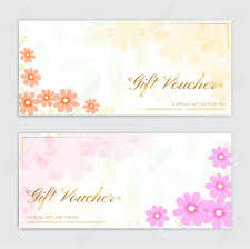 Gift Certicate Template Gift Certificate Voucher Gift Card Or Cash Coupon Template