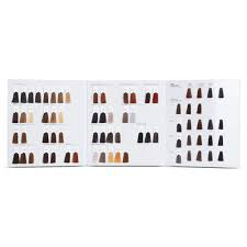 Premium 3 Folded Color Chart With Clip Fashion Color