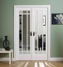 manhatten glazed white interior doors