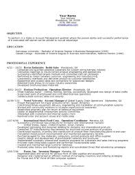 resume for business owner