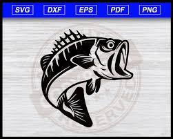 Download 1,700+ royalty free svg vector images. Bass Fish Svg Sea Bass Svg Bass Fish Cut File For Cricut Fishing Cl Editable Svg File