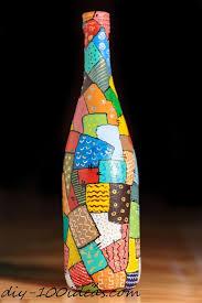 Glass Bottle Decoration Ideas 100 Wine Bottle Decoration Ideas DIY 100 Ideas 53