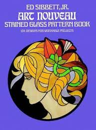 Stained Glass Pattern Magnificent Art Nouveau Stained Glass Pattern Book