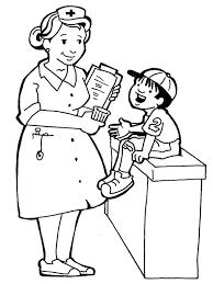 nursing coloring pages. Coloring Pages For Kids Hospital Doctors Nurses Nurse Sabar Melayan Kerenah Pesakit Tak Kesah La Budak Kecik Or Orang And Nursing