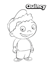 Small Picture Quincy from Little Einsteins Coloring Page Download Print