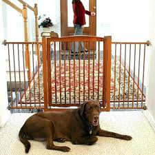 wooden pet gate with door wide gates image of extra wood dog cat w wooden dog gates