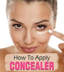 how to apply concealer