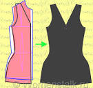 Сшить платье в обтяжку